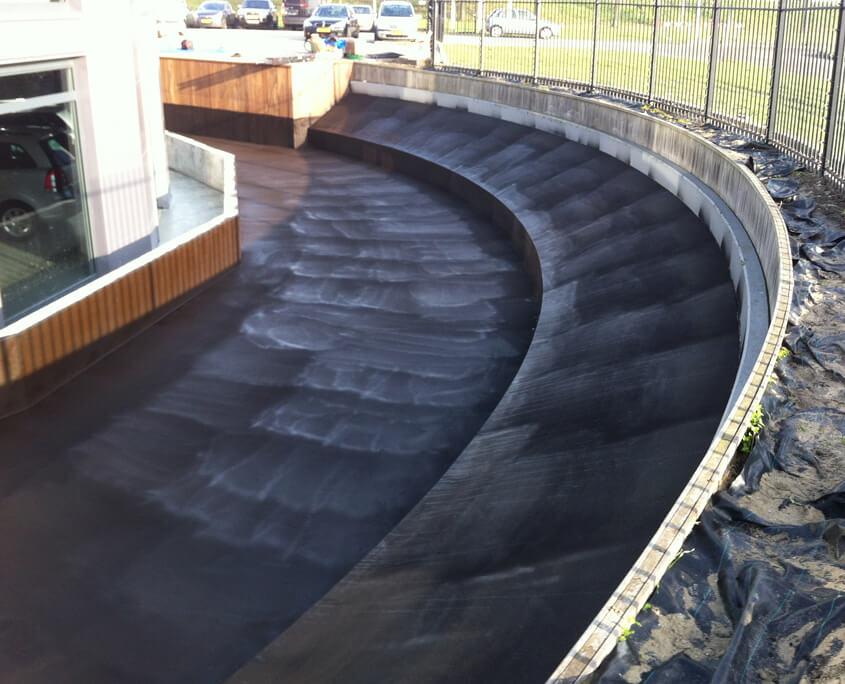 waterdicht vijver vloeibaar rubber coatings vloeibare