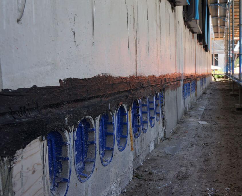 Luchtdicht alle prefab naden vloeibaar rubber coatings