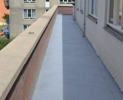 vloeibaar rubber galerij coating