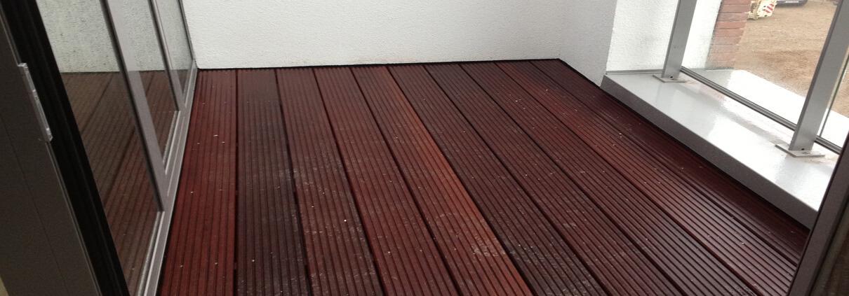 Balkon waterdicht maken