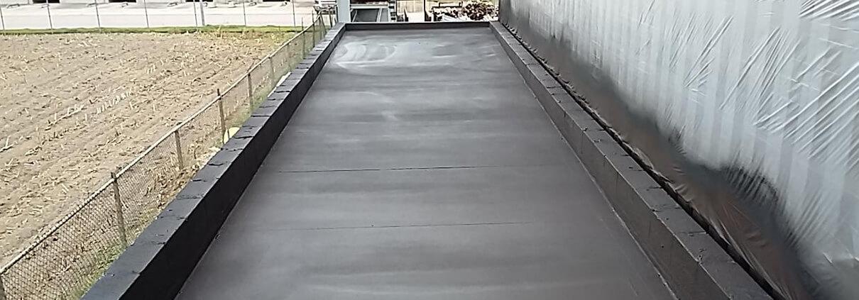 Dakbedekking groen dak