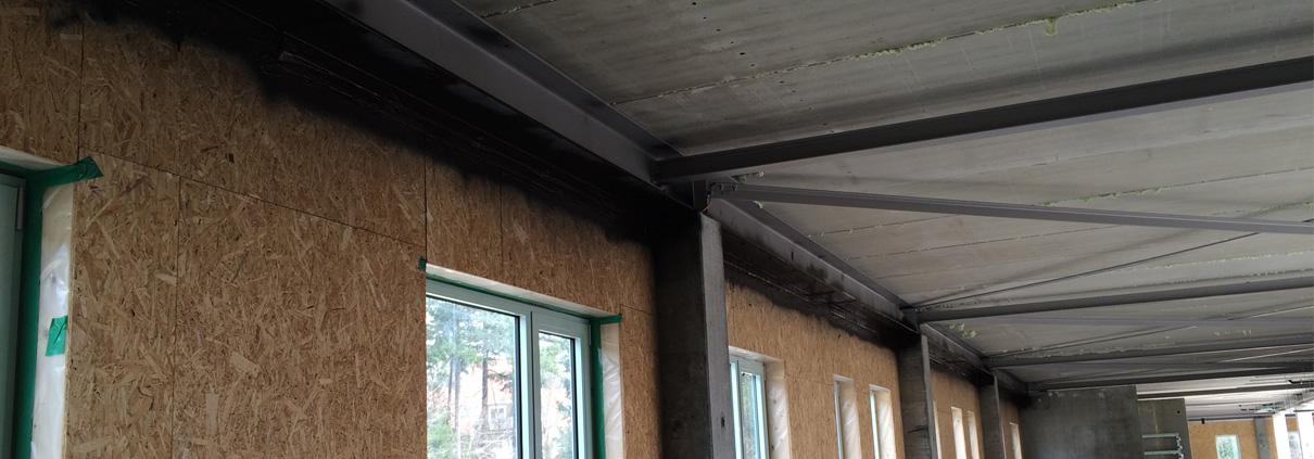 plafond-wand aansluiting luchtdicht bouwen