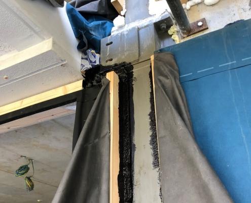 Luchtdicht bouwen vloeibaar rubber coating