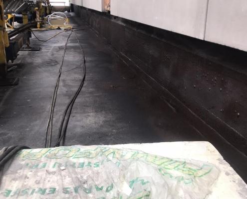Flexibele rubber coating