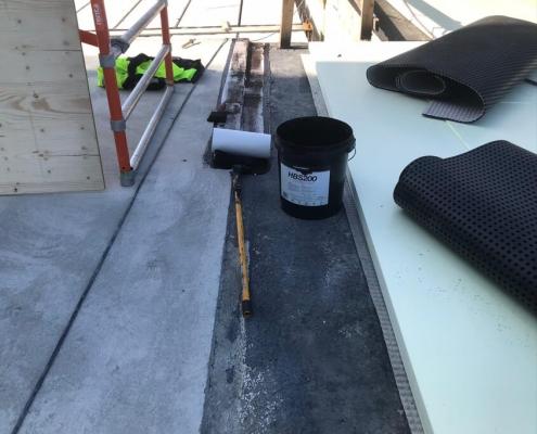 Vloeibaar rubber waterdicht