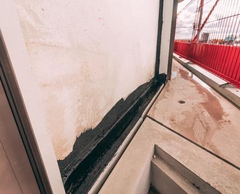 Kimafdichting prefab betonelementen