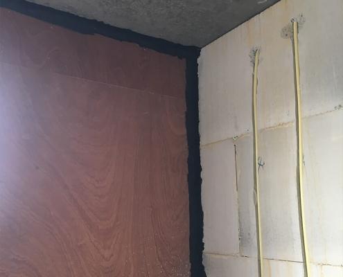 Luchtdicht bouwen wand tot plafond