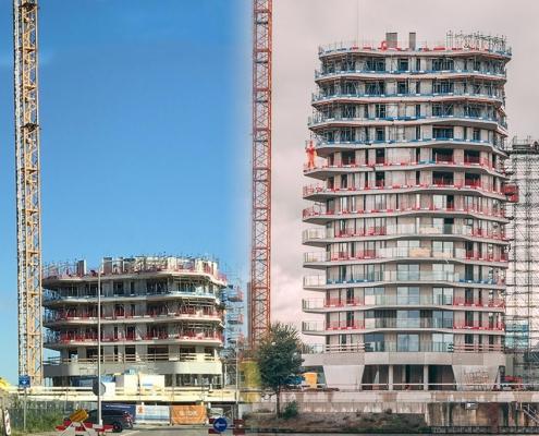 Luchtdicht bouwen woontoren oud vs nieuw