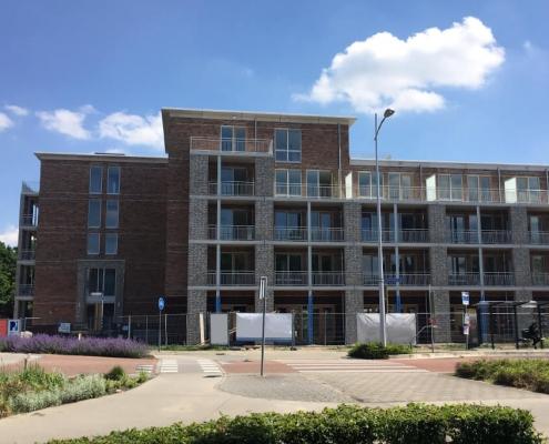 Luchdicht appartementencomplex met hbs200