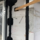 Stelkozijn en verticale naad luchtdicht