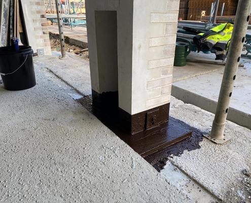 aansluiting betonvloer betonelement