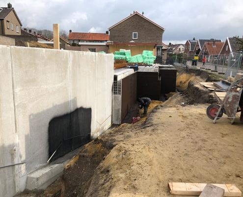betonwand kelder waterdicht liquid rubber