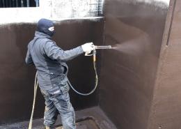 vloeibare coating kelder