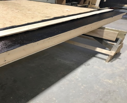gevelelement waterdicht coating