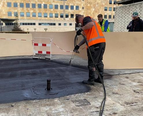 twee componenten systeem liquid rubber beton