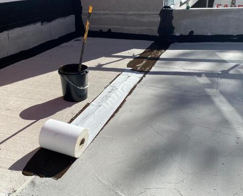 dilatatie coating rubber