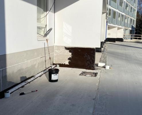 vloeibare coating waterdicht
