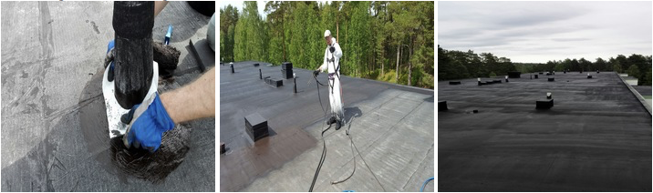 Liquid Rubber Roofing