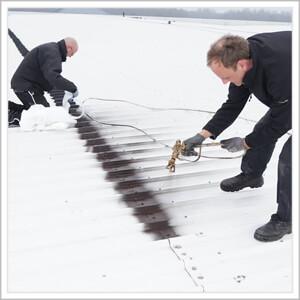 vloeibaar rubber dak