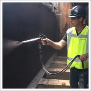 vloeibaar rubber op waterbasis