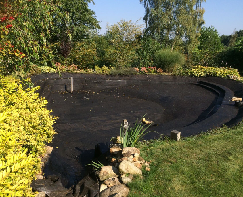 Fish Pond Waterproofing : Fish pound liquid rubber europe coatings