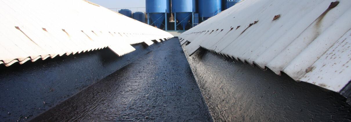 liquid sealant gutters - Liquid Rubber Roof