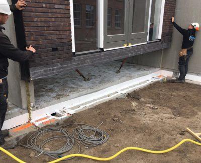 Prefab waterproof sealing