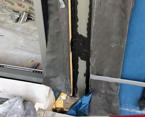 Windows frame airtight