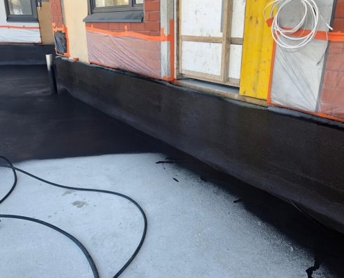 Waterproofing parking deck sealant