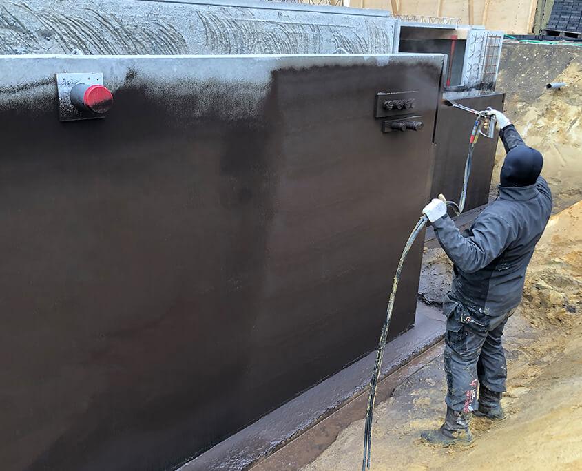 basement waterproofed