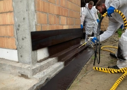 foundation spray coating