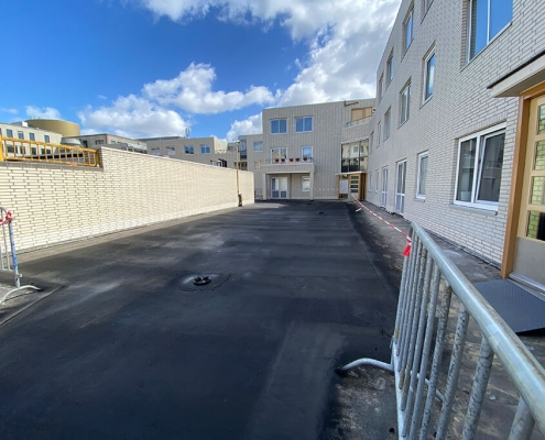 concrete deck waterproof liquid system