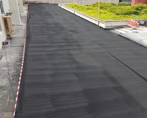 liquid rubber coating concrete deck