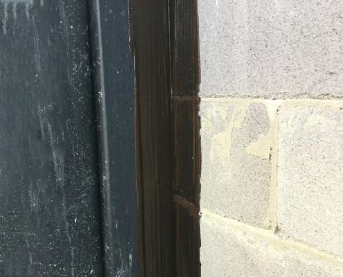 liquid rubber window frame