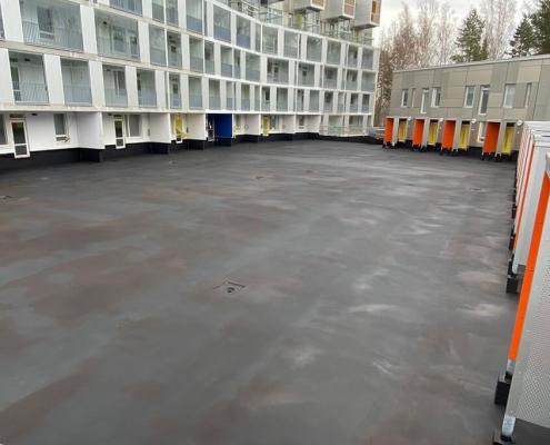 parking deck waterproof