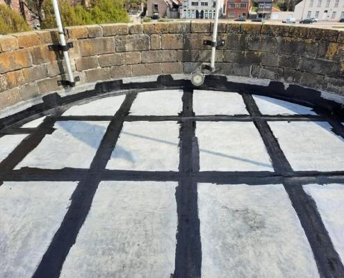waterproof seams roof