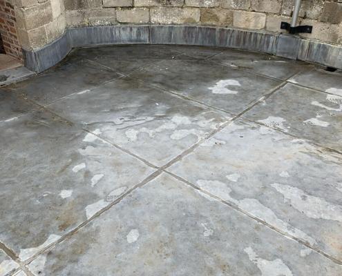 zinc roof top